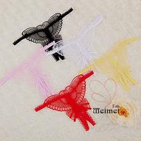 5 Pcs/lot Wholesale !!!! 6 colors sexy G-string/  appeal underwear lady's T pants  SKU: CLT007