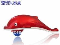 Infrared big dolphin massager computer version multifunctional massage hammer