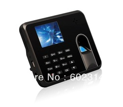 Fingerprint Time Attendance TFT Screen No Need Software(Hong Kong)