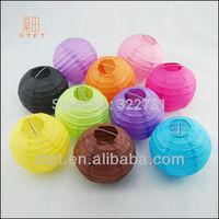 10 inch Free Shipping wedding round Paper Lantern in purple