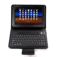 Free Shipping Bluetooth Wireless Keyboard Case For Samsung Galaxy Tab 2 7.0 P3100 P3110 P3113