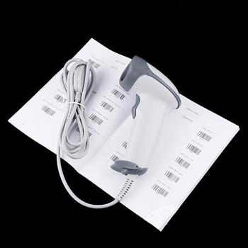 S5Y USB Long Scan Barcode Number Label Laser Symbol Sanner Bar Code Reader New