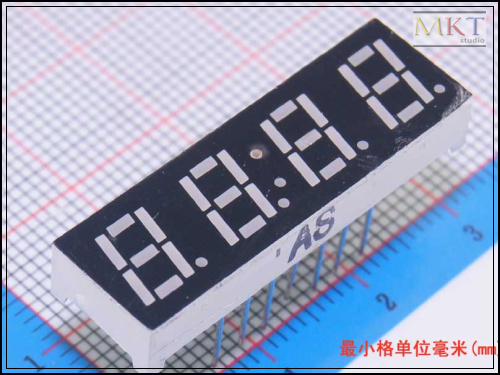 "Free shipping (50Pcs/lot) Wholesale 0.28"" inch 4 Digits 7 Seven Segment Clock Red LED Numeric Digital Display,Common Cathode(China (Mainland))"