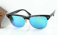 New Style Designer Sunglass Men's/Women's Clubmaster Oversized Classic 4175 New Color 877/19 Black / Jade Iridium Lens 57mm
