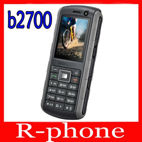 Original Samsung B2700 Mobile Phone 3G Unlocked 2MP Bluetooth Refurbished B2700 Cellphone(China (Mainland))