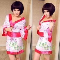 Free Shipping Wholesale Sexy Lingerie Kimono Costume sleepwear kimono lingerie sexy sexy cosplay sexy japanese lingerie