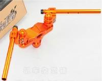 twpo high performance handle bar kits CNC cutting process for bws zuma 125 multi-angles