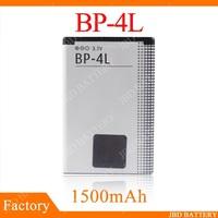 DHL Freeshipping 100pcs/lot  High Quality BP-4L BP4L Battery For Nokia E63 E71 E71X E72 E90 E95 N97 Cell Phone 1500mAh