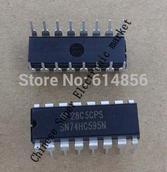 100PCS SN74HC595N 74HC595N 74HC595 DIP-16