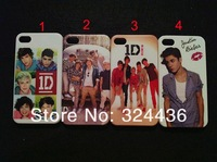 10PCS/Lots 1D One Direction Louis Harry Liam Zayn Niall Case Cover for iphone 4 4S Free shipping