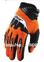 Thor Spectrum Motorcycle Gloves Cycling Bicycle Racing Bike Motorcross Gloves orange