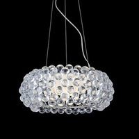 Art Band Lustre Bedroom Kitchen House Pendant Lighting Foscarini Caboche Ball Pendant Lamp Dia 35cm/50cm/65cm