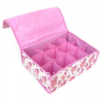 2 Colors FREE SHIPPING  Cute Underwear Box Foldable Box,Storage Box,Creative Box Lovely Box For Bra,Underwear,Necktie,Socks