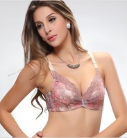 2013 NEW ARRIVAL latest style embrodiery deep V collar bras SUPER sexy lace flower women bras underwear FREE SHIPPING