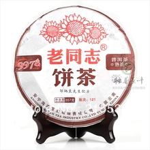 [GRANDNESS] 2012 yr  9978 Lao Tong Zhi Yunnan Anning Haiwan Old Comrade Ripe Shu Puer Pu Er Puerh Tea 357g cake Free shipping