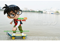 Action Figure! Handicrafts Detective Conan the surrounding gift items toy doll model genuine  collectible toys Skateboard style