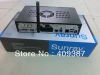 free shipping Rev D6 Sunray4 800HD SE SR4 with Triple tuner Enigma2 DVB-S(S2)/C/T+ 300M WIFI, sunray sr4