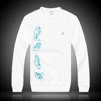 new ultra- comfortable men's casual long-sleeved T-shirt , silk blouse