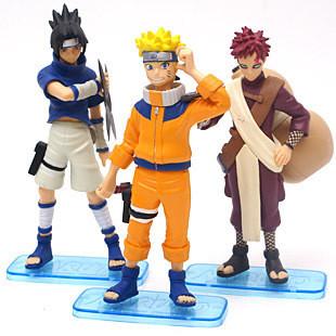 Free Shipping  15cm Japan anime figure  Uzumaki Naruto toys for boys action & toy figures  ( 3 pices /set)