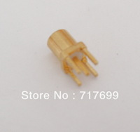 MMCX female straight connector for PCB mount