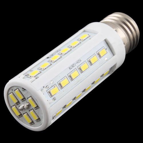 2014 New Pure White 10W 42 LED 5630 SMD E27 Corn Light Bulb 220V Energy Saving Lamp # 17227