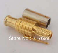 MCX male crimp connector for RG316,RG174 cable