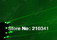 Free Shipping,1 Pair Hi-quanlity GREEN Glove laser projector ,Dj Gloves Laser Light For DJ Club,Party Show