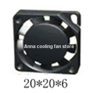 20x20x6  Brushless DC Cooling Blower Fan dc axial fan