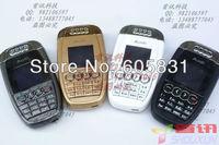 Free Shipping 2014 new unlocked mini luxury mobile phone Quad band high quality single sim card sport car key Russia cell phone
