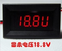 Free  shipping ,,Digital dual-mode voltage ammeter (4-30V/0-10A)2A/5A/10A