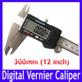 Free shipping High quality 300mm 12&quot; Digital CALIPER VERNIER GAUGE MICROMETER , Digital Measure tool with LCD,2pcs/lot