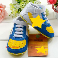 Soft outsole baby shoe toddler shoes 6pairs/lot footwear infant first walkers free shipping