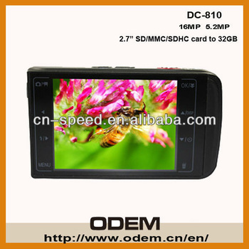 2 pc Freeshipping gift what digital camera DC 810 Cheap 12MP Digital Camera 3X Optical Zoom 3 Inch Touch LCD Screen in stock