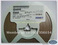 Free shipping@100pcs/LOT KEMET SMD Tantalum capacitor T491B105M025AT  SIZE B/(3528-21) 1UF/105M 20% 25V