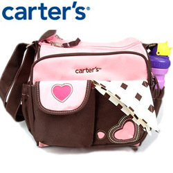 Promotional Free Shipping Hot sale Diaper Bag Fashion Mummy Nappy Bag Shoulder Baby Mother Bag(China (Mainland))