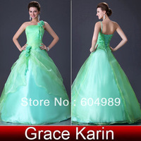 Free Shipping Grace Karin Bridesmaids Taffeta Chiffon Designer Wedding Evening Dress 6 Size CL2678