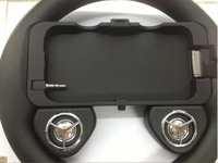 Game Wheel Speaker Racing Games Gaming Controller Steering Wheel with Speaker Gaming Gadget for Apple iPhone 4G 4S