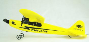 2012 Newest arrival Sea gull EPP HL803 RTF air plane PIPER J3 CUB NC26170 RC Airplane WL801 upgrade free shipping