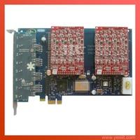 Asterisk card AEX800 PCI-express 8 Ports 8FXO for voip ippbx ip pbx elastix trixbox system