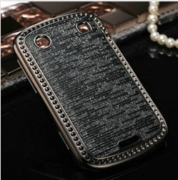 DHL Free shipping Luxury Bling case for Blackberry 9900 Wholesale 50pcs/lot Torch diamond newest crystal back cover novelty(China (Mainland))