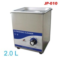 2L ultrasound cleaner 60W Stainless steel cellphone glasses jewelry with basket