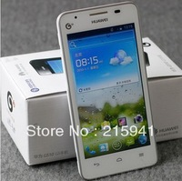 Huawei  g510  android 4 0  smart mobile phone 3g 4.5 screen dual-core 1g capacitive  Free shipping