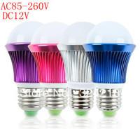 10% OFF 3*2 W Epistar Chip E14/E27 ,AC85-260V,DC12V ,Cool/Warm White High Power LED Light Bulb Lamp Free Shipping 50 PCS/LOT