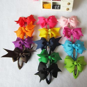 Fashion Hair Pins Baby Ribbon Hair Pins  Hair Accessories ,  Hair Bows Bobby Haipins