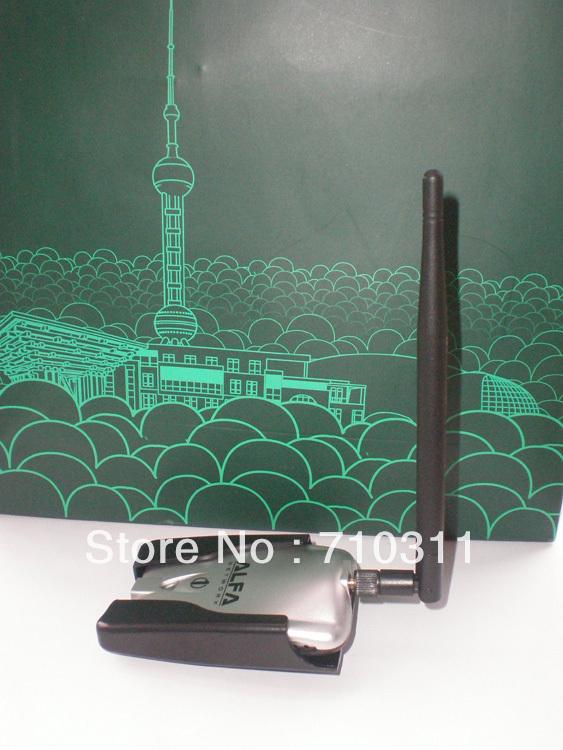 Hig Power Alfa AWUS036H USB Wireless G WiFi Adapter+7dBi Antenna(China (Mainland))