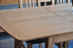 extending table, wooden dining table, solid wood table, oak furniture, home furniture(China (Mainland))