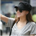 2013  flat-topped hats fashion hat military cap Star sun caps casual wholesale price Unisex Spring Summer Autumn Free Shipping