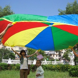 Free shipping 10FT games parachutes(China (Mainland))