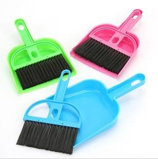 Fashion mini cleaning broom,broom and dustpan set,mini plastic broom,fashion home gifts(China (Mainland))