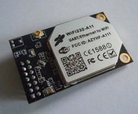 Free Shipping Built-in Atenna serial TTL RS232 to 802.11 b/g/n converter Embedded WiFi Module